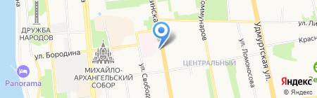 Seven Donuts на карте Ижевска