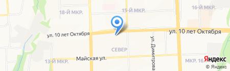 Марина на карте Ижевска