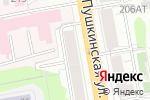 Схема проезда до компании Корпорация 21 век в Ижевске