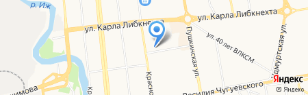 Real travel на карте Ижевска