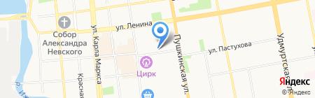 Региональный центр помощи должникам на карте Ижевска