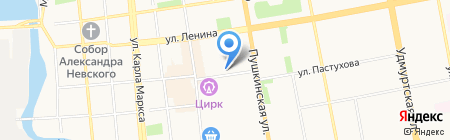 Stock Centre на карте Ижевска