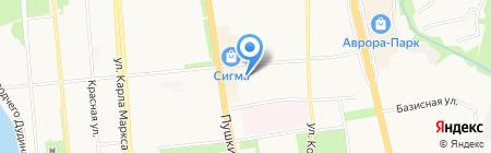 Салонная косметика на карте Ижевска