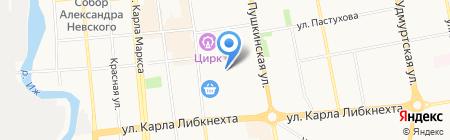 Stefany на карте Ижевска