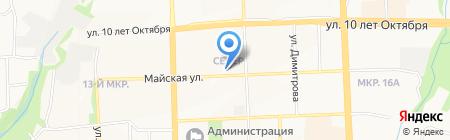 Киоск по продаже молочных продуктов на карте Ижевска