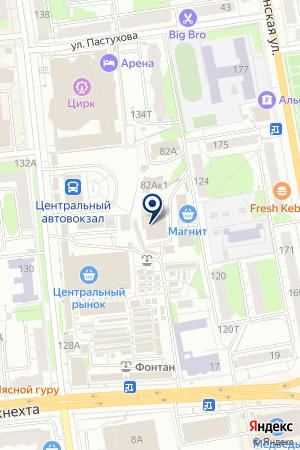 ZOOМИР НА СЕННОЙ на карте Ижевска