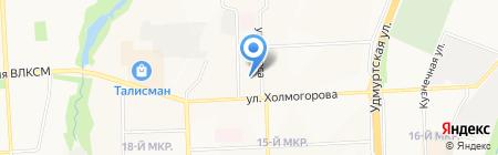 Мотор-сервис на карте Ижевска