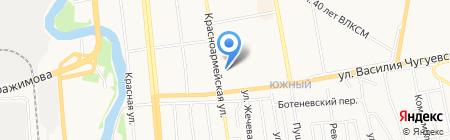 Техэксперт-Ижевск на карте Ижевска