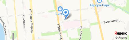 Русская страховая транспортная компания на карте Ижевска