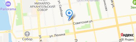 Региональная общественная организация органов ОВД и внутренних войск Удмуртской Республики на карте Ижевска