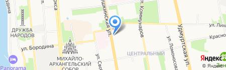 Beauty Line на карте Ижевска