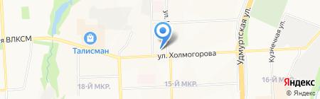 Лидер Почта на карте Ижевска