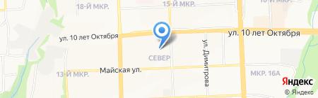 Детский сад №73 на карте Ижевска