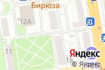 Схема проезда до компании Royal garden в Ижевске