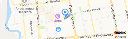 Инвестор на карте Ижевска