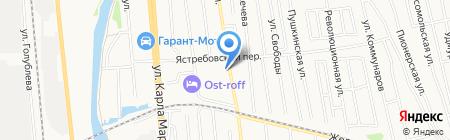 Айк-Мото на карте Ижевска
