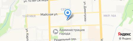 Участковый пункт полиции №10 на карте Ижевска