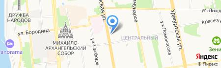 Florance на карте Ижевска