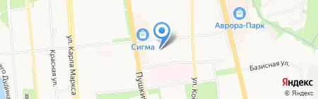 Политех на карте Ижевска