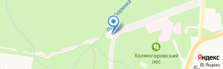 Заря на карте Ижевска