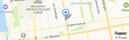 Республиканское адресно-справочное бюро на карте Ижевска