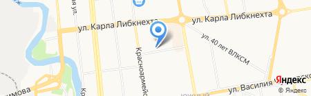 Онис Мебель на карте Ижевска