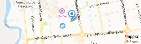Халяль на карте Ижевска