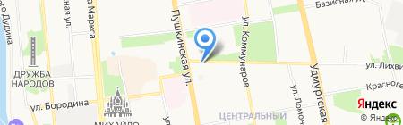 Berkonty на карте Ижевска