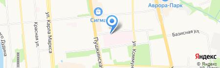 Детский морг на карте Ижевска