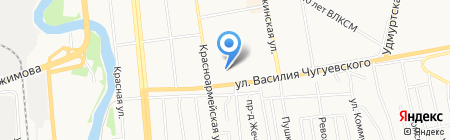 Global-auto на карте Ижевска