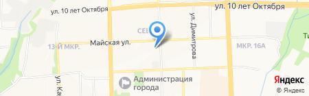 Детский сад №241 на карте Ижевска
