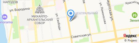 Pizza Hut на карте Ижевска