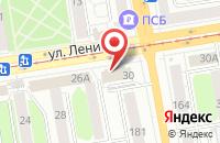 Схема проезда до компании Валентина Плюс в Ижевске