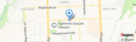 Премьер-Отель на карте Ижевска