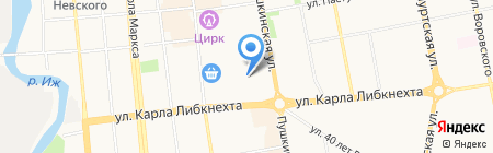 Bounty на карте Ижевска