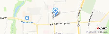 Suprime на карте Ижевска