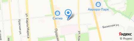 Наркологический кабинет на карте Ижевска