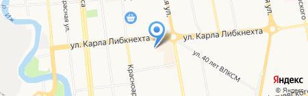 Медвежонок на карте Ижевска