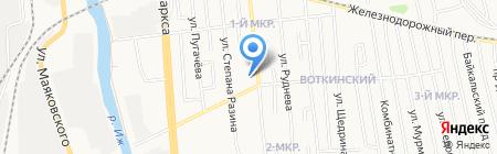 Для Вас на карте Ижевска