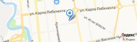 Юнимед на карте Ижевска
