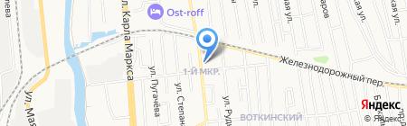 Автосервис на карте Ижевска