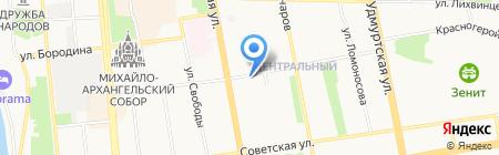O.M.G на карте Ижевска