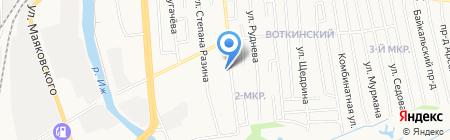 Кормилец на карте Ижевска