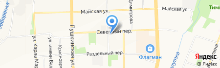 Продуктовая лавка на карте Ижевска