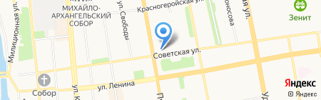 Кристи на карте Ижевска