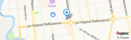 Ответ на карте Ижевска