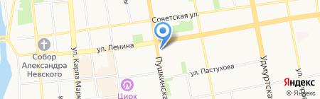 УФМС на карте Ижевска