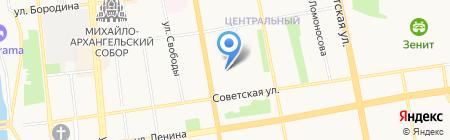 ИжТрансСталь на карте Ижевска
