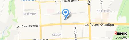 Автодевайс на карте Ижевска