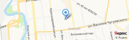 Злата на карте Ижевска